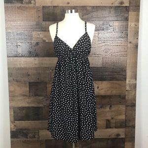 Splendid Maternity Polka dot Strap mini dress XL